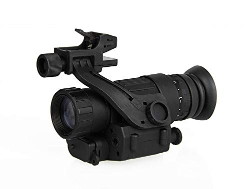 CANIS LATRANS PVS-14 Digital Night Vision Goggle IR Night Vision Monocular with J-Arm Headset Adapter PVS14(Black (Best Cheap Night Vision Goggles)