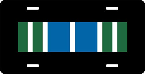 (US Army Achievement Medal Ribbon Auto Truck Car Front Tag Aluminum Metal License Plate Frame Cover Military Vanity Gift 12 x 6 Inch)