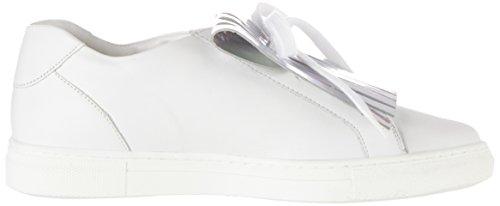 Hassia Maranello, Weite G - Zapatillas Mujer Weiß (weiss/silber)