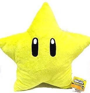 Mario Brothers Starman 20 Inch Plush Pillow B0036fzo9s Amazon