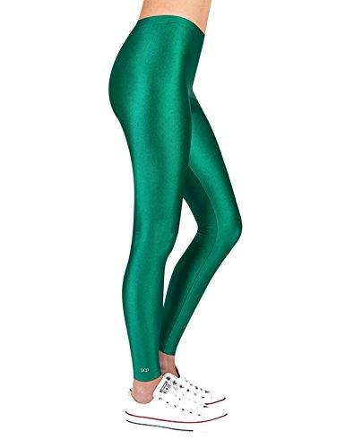 PCP Women's Jacqueline Parrot Green Leggings Green by PCP