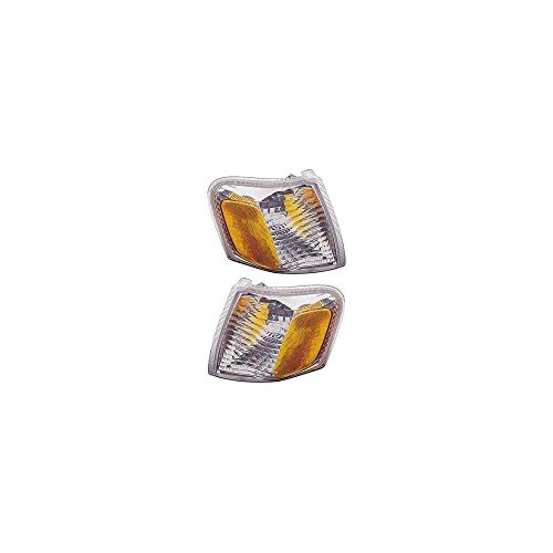 Corner Light Set Of 2 compatible with Explorer Sport Trac 01-05 Right and Left Side Included Lens and - Corner Ford 2001 Explorer