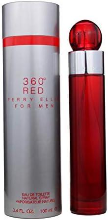 Perry Ellis 360 Red 100ml eau de parfum (Hombres, Mandarin, Naranja, Mandarin,Orange, Nutmeg, Nutmeg, Canela)