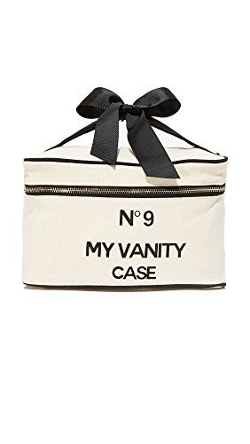 Bag-all Women's My Vanity Travel Case, Natural/Black, One Size