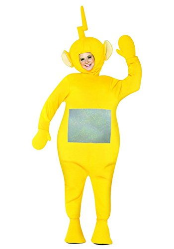 Teletubbies Costume - One Size - Chest Size 48-52 - Teletubby Fancy Dress