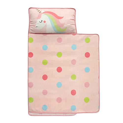 Lambs & Ivy Unicorn Nap Mat, Pink