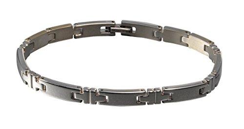 Phiten Pure Titanium Slim Bracelet, 7.25