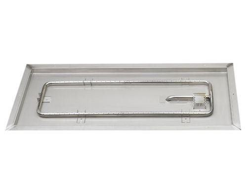 Rectangular Burner Kit with Pan and Hanger - AWEIS Ignition by American Fyre Designs