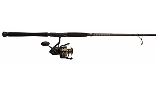 Penn BTLII2000661ML Battle II 2000 Spinning Reel Combo, Inshore, 6.5 Feet, Medium Light Power