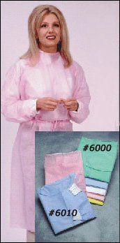 Latex-Free Isolation Gown - Elastic Cuff 6000 by Maytex Corp