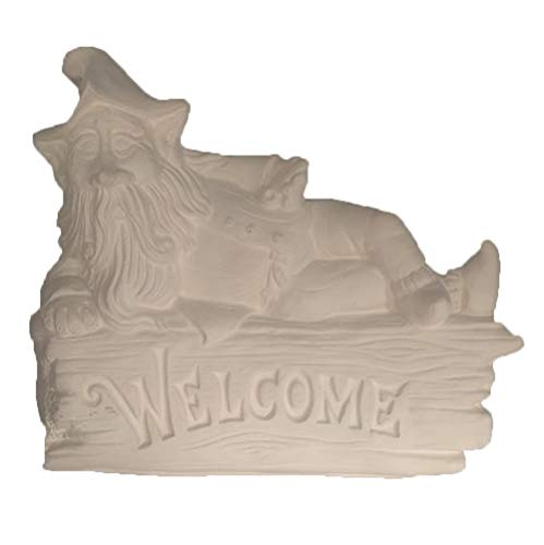 Gnome Welcome Plaque 6