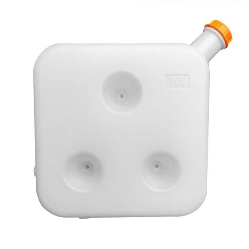 Depósito de combustible de plástico Caja de almacenamiento de aceite de gasolina multifunción portátil Universal Para...