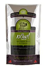 Now! Dry Dog Food, Grain Free Turkey and Duck Formula, Puppy, 25-Pound Bag, My Pet Supplies