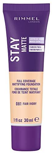 Rimmel Stay Matte Foundation, Fair Ivory (2-Pack) (Cheap Stuffs Under 1 Dollar)