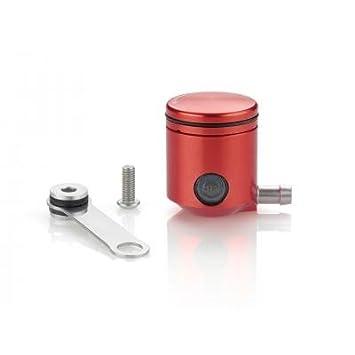 RIZOMA - CT025R/271 : RIZOMA - CT025R/271 : Deposito Fluido liquido Embrague Salida Lateral Color Rojo: Amazon.es: Coche y moto