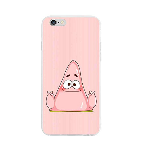 iPhone 6/6S Case- Stylish Patrick Star PC Slim Shockproof Flexible Back Protective Case for iPhone 6/6S
