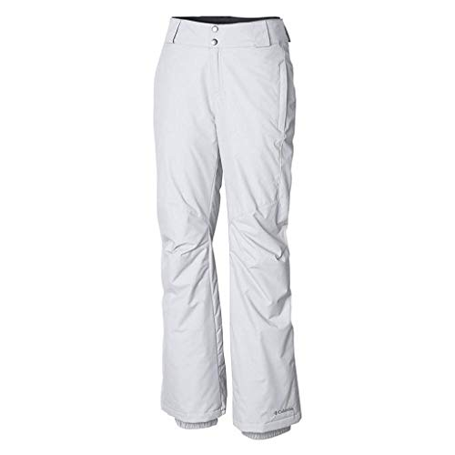 (Columbia Women's Standard Bugaboo II Pant, White, Large x Regular)