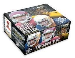 ball box (30 pk HOBBY) (Press Pass Football Box)