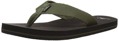 O'Neill Men's Bolsa Sandal Flip-Flop, Army, 10 Medium US by O'Neill (Image #1)