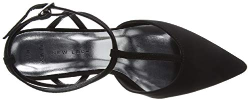 Bride New Noir Foot Look Cheville Escarpins Femme Serene 1 Wide black wXqHrxfX