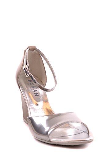Hogan Zapatos de Vestir Para Mujer Plateado Plata It - Marke Größe