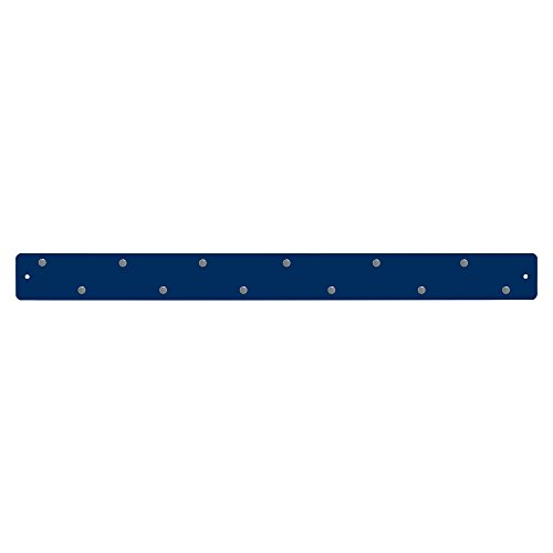 Three By Three Seattle Magnetic Strip Bulletin Board, Navy