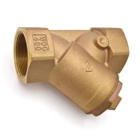 2'' Threaded Y-Strainer, Cast Bronze, with Plug