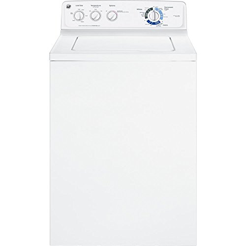 GE GTWN2800DWW 3.9 Cu. Ft. White Top Load Washer