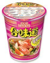 Nissin Seafood Crab Instant Authentic HK Japanese Ramen Cup Of Noodles Soup (5 Pack)