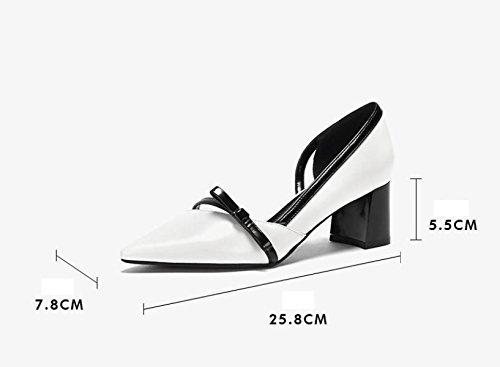 Ximu Voorjaar Nieuwe Puntige Orsay Flats Schoenen Dames Schoenen Sandalen Comfortabele Pumps Wit