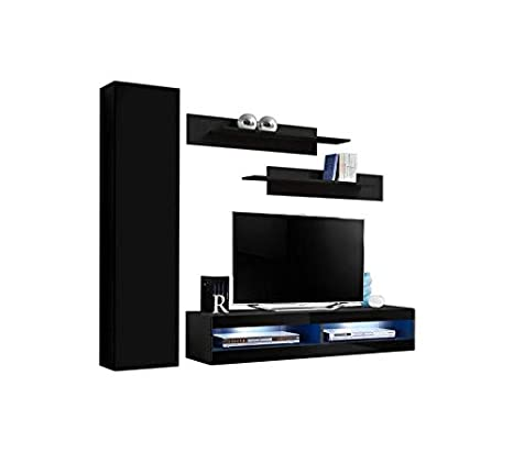 Amazon.com: Meble Furniture & Rugs Fly G1 34TV Wall Mounted ...
