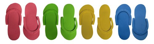 Footcandy Original Pedicure Slipper 12-pair Party Pack by PNI
