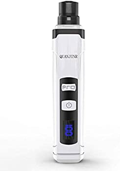 Quanjinr 2-Speed Rechargeable Pet Nail Trimmer Clipper