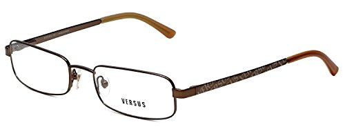 Versus Designer Reading Glasses 7039-1006 in Bronze (Versus Eyeglass Frames)