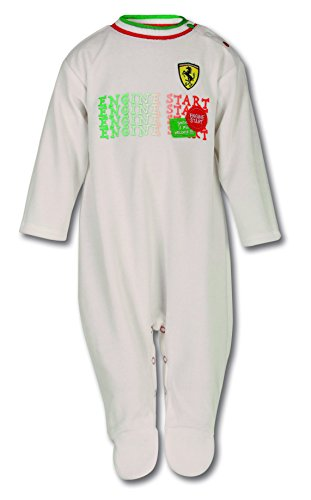 Ferrari Infant Shield Pajamas - Ferrari White Collection