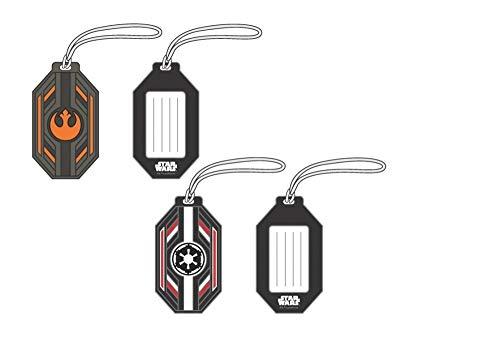 Bioworld Licensed Luggage Tag Set (Star Wars) (Luggage Tag Star Wars)