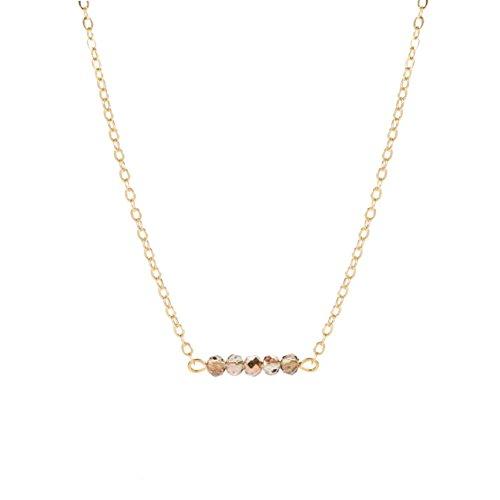 Befettly Gemstone Necklace Delicate Handmade product image