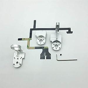 XmiPbs Yaw + Roll Arm + Cover + Ribbon Cable Kit + Screw Gimbal Repair for DJI Phantom 3 Professional/Advanced/4k