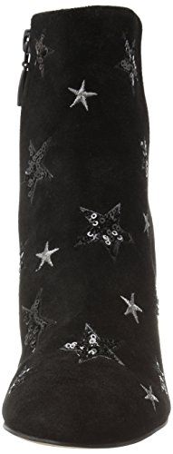 The Fix Women's Nash Star Sequin Oval Heel Ankle Bootie, Black, 8 B US by The Fix (Image #3)