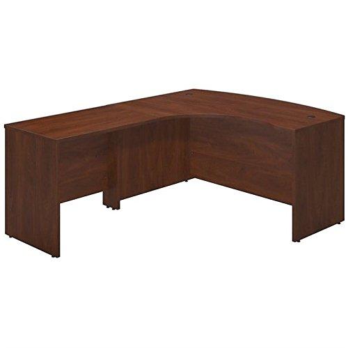 Left Pedestal Desk Return (Bush Business Furniture Series C Elite 60W x 43D Left Hand Bowfront Desk Shell with 36W Return in Hansen Cherry)