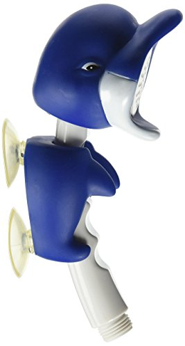 (ConservCo Fun & Adorable Bath & Shower Wand for Kids - Dollie the Dolphin )