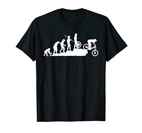 Evolution Downhill Mountain Bike MTB Mountain Biking T Shirt (The Best All Mountain Bike)