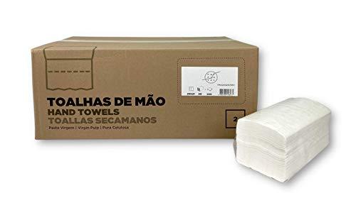 Fapajal Papercare Handdoeken, zigzag, 23 x 21 cm, 2-laags, 20 verpakkingen à 200 stuks