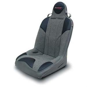 MasterCraft Safety 523287 Rubicon DirtSport Smoke Seat with Fixed Headrest - Mastercraft Rubicon Seats