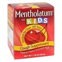 Mentholatum - Children's Chest Rub, Cherry Scented, 1.76 oz - 2pc