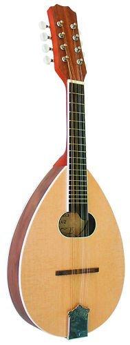 MANDOLINE 8 cordes en bois de Noyer ~ Neuve & Garantie M'sa