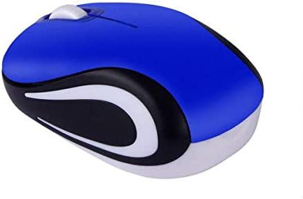 Mobile Wireless Mouse Blue Electronics Computer Accessories