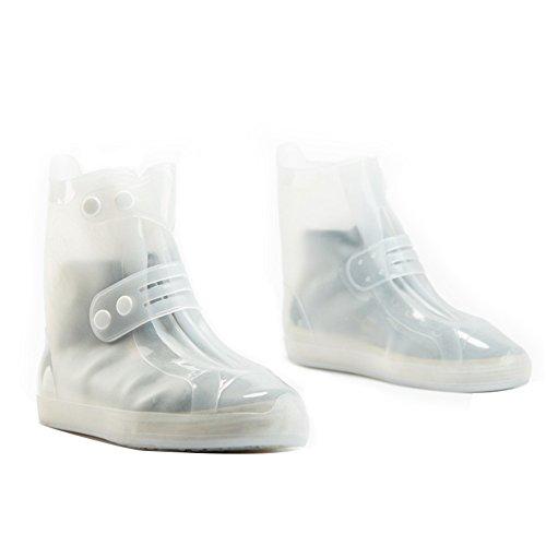 Women Ankle Chiximaxu White Solid Waterproof Rain Short Shoes Kids Men Boots Rain AOv5O