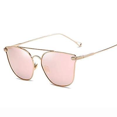 FeliciaJuan Adult Metal Frame Unisex Aviator Driving Polarized Sunglasses