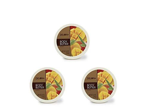 Delon Intense Moisturizing Mango Body Butter 6.9 Oz 3 Pack